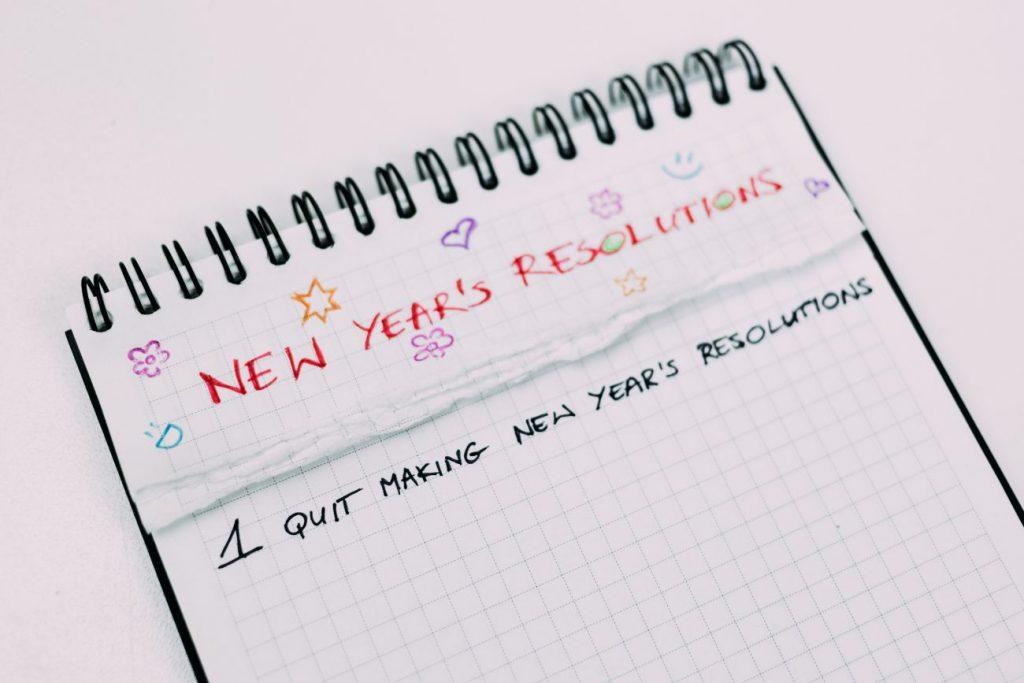 resoluciones de nuevo año