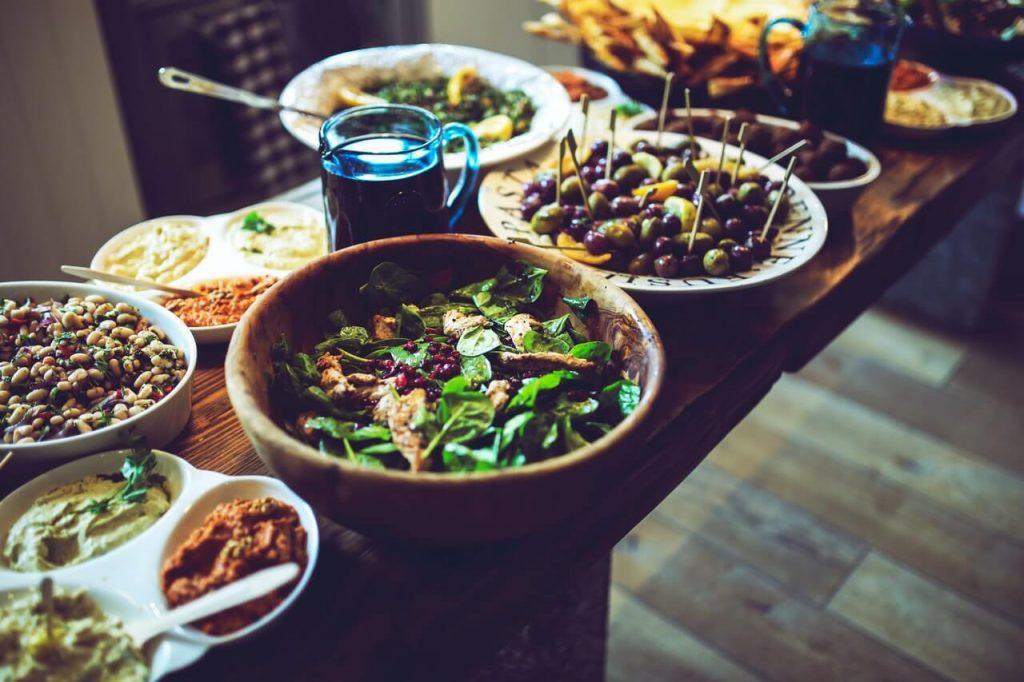 como comer saludable